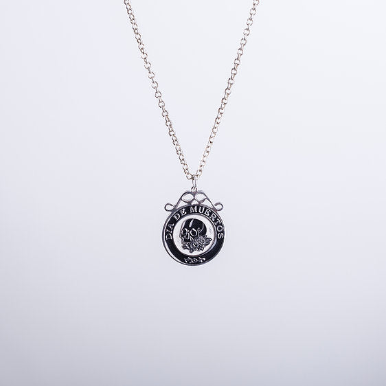 Calavera Necklace In Silver