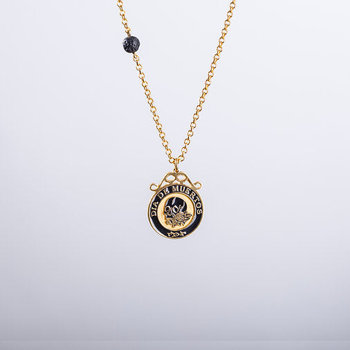 Calavera Necklace In Gold