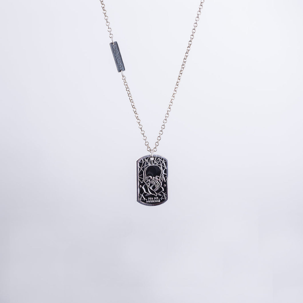 Calaverita Necklace In Silver