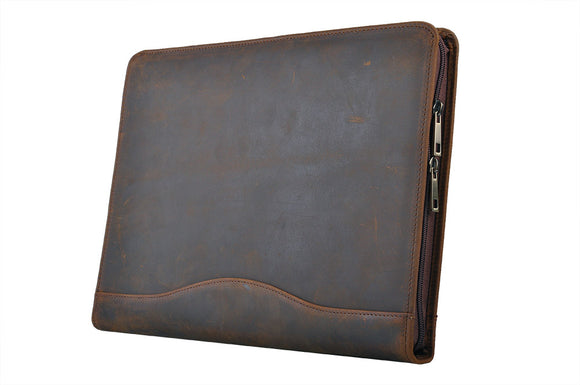 Professional design made of genuine leather and suede leather