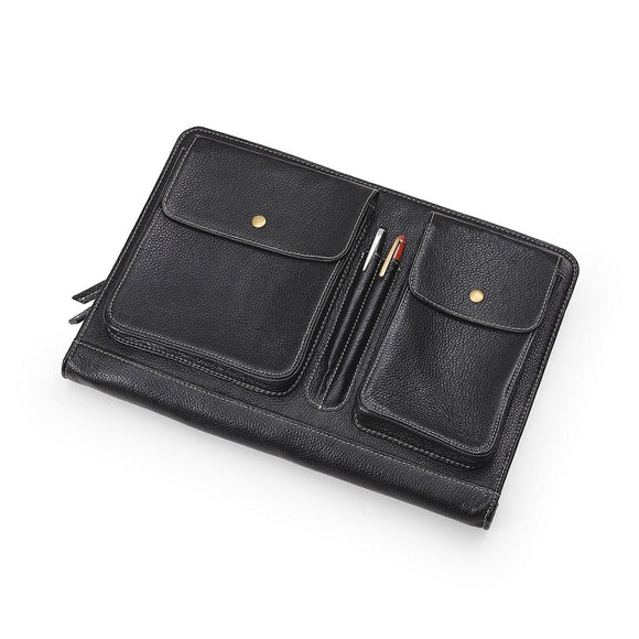 Leather Clutch Portfolio Case for MacBook and iPad