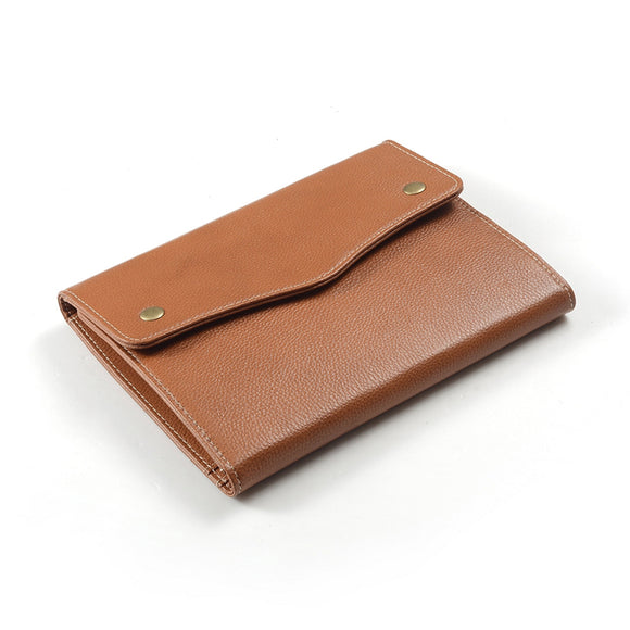 Deluxe Leather Conference Folder Case for a Google Nexus Tablet