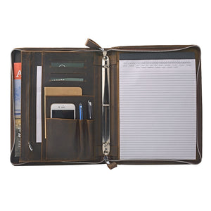 Big inside pocket holds 11-inch laptop or documents (not included)