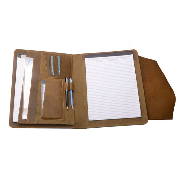 Fits a letter-size (8.5 x 11 inch) / A4-size notepad (notepad not included)