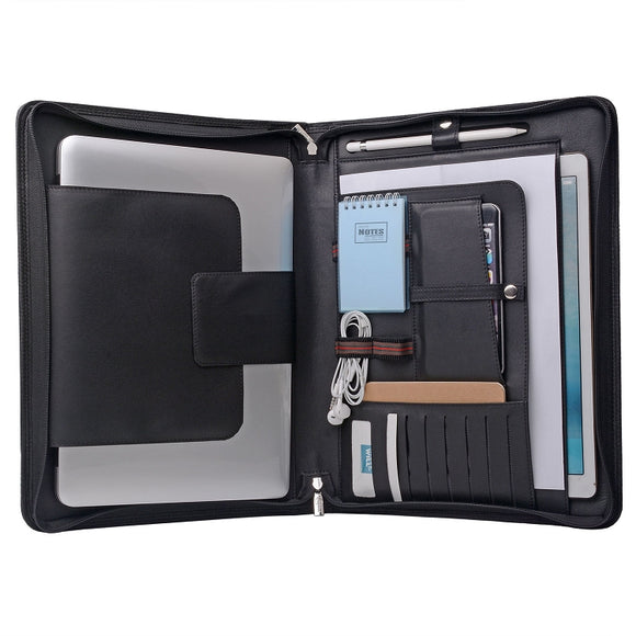 Leather iPad Pro and MacBook Pro Case