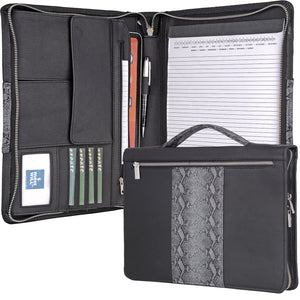 Leather Laptop Portfolio with Handle