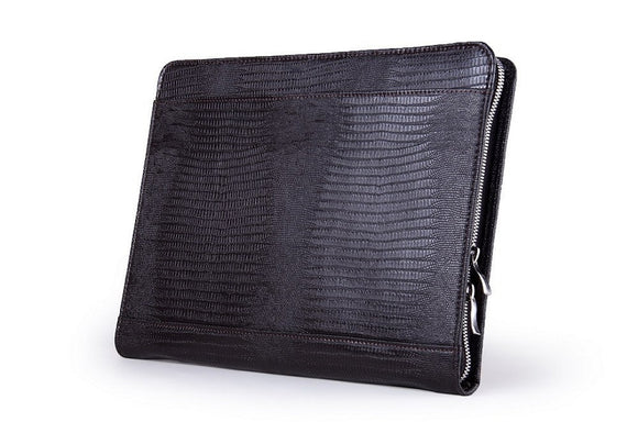 Deluxe Crocodile-Textured Padfolio for Samsung Galaxy Tab / Note and Letter / A4 Paper