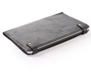 Simple style Chromebook Leather Sleeve case