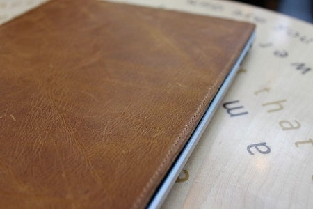 ipad case-Top upper cow leather