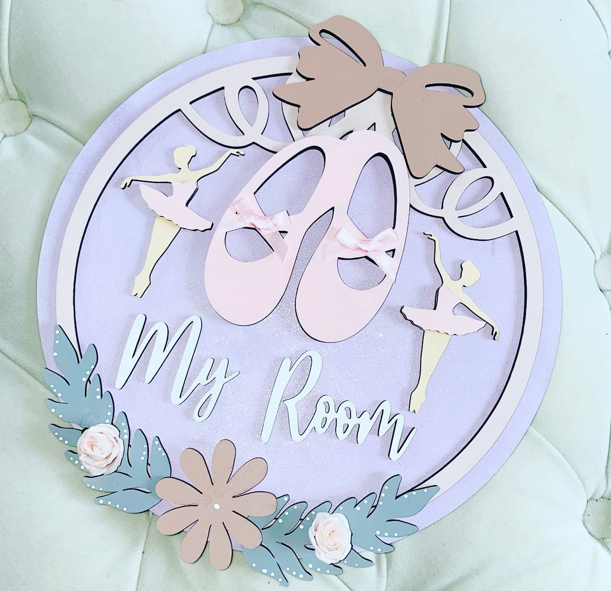BALLERINA ROSE PLAQUE