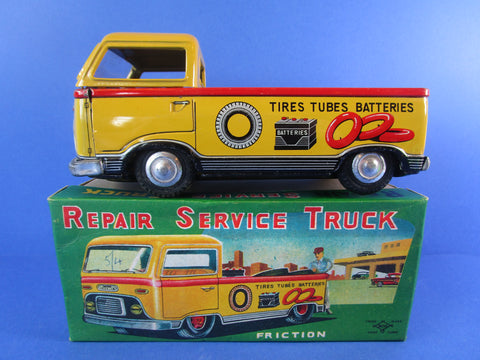 Daiya Repair Service Truck, very rare,  near mint boxed!