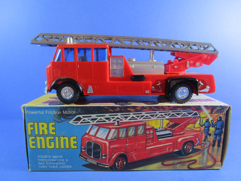 AEC Hong Kong made Fire Engine, copy of the Matchbox Kingsize  model.