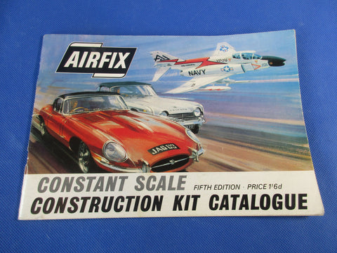 Airfix Fifth Edition Construction Kit Catalogue, early 1960's