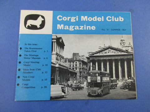 Corgi Model Club Magazine No.31