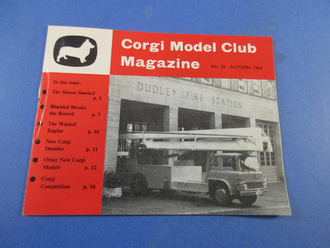 Corgi Model Club Magazine No.32