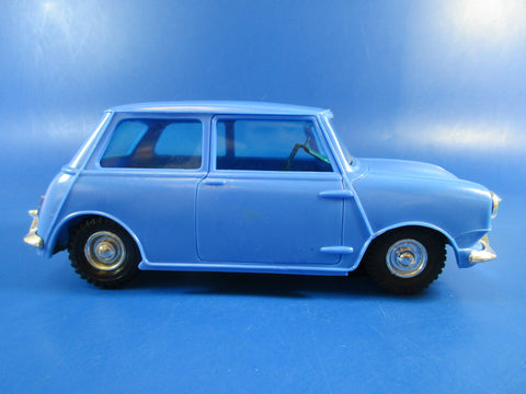 Fairylite Austin Mini Minor, rare, 1960's plastic, very near mint!