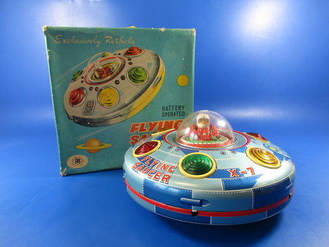Rethels Flying Saucer X-7