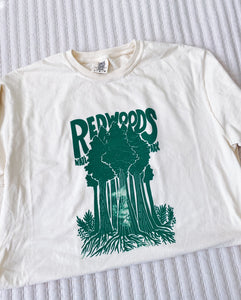 IMPERFECT Redwoods Tee - Hand Printed