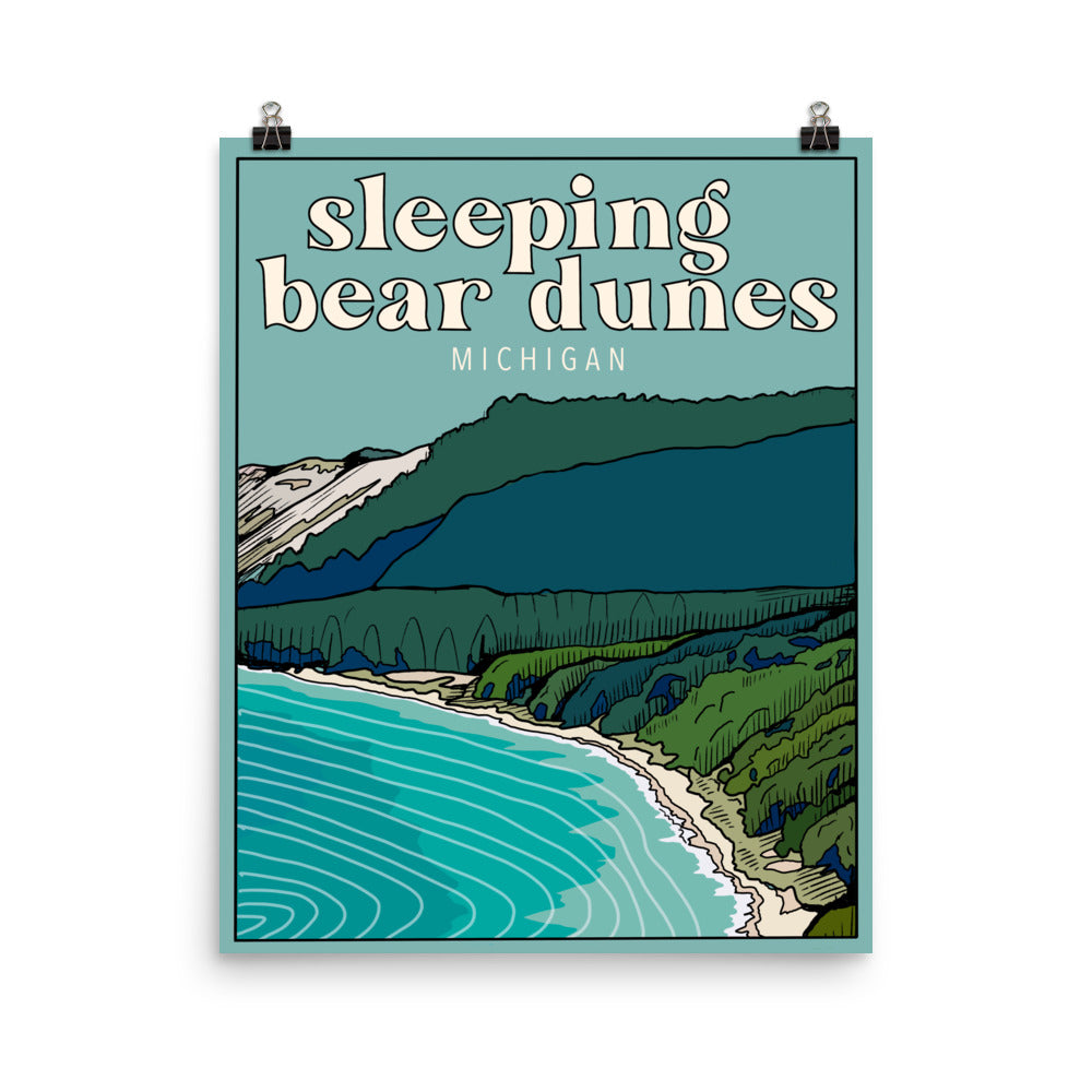 Sleeping Bear Dunes Poster