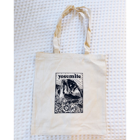 Yosemite National Park Canvas Tote