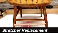 Chair Stretcher Replacement Repair YouTube