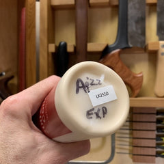 Wood glue expiry date on the bottom of the glue bottle