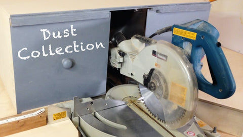 Miter Saw Dust Collection Hood Plan