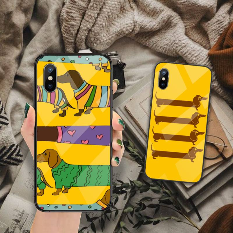 Sausage Dog Trendy Phone Case