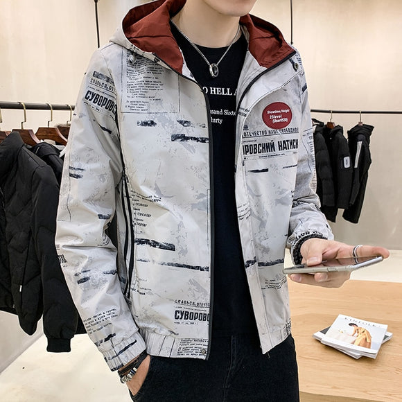 Jacket Men Outerwear Fashion New 2020 Spring Autumn Korean Version Casual Jackets Thin Male High Quality Hip Hop Coat Men