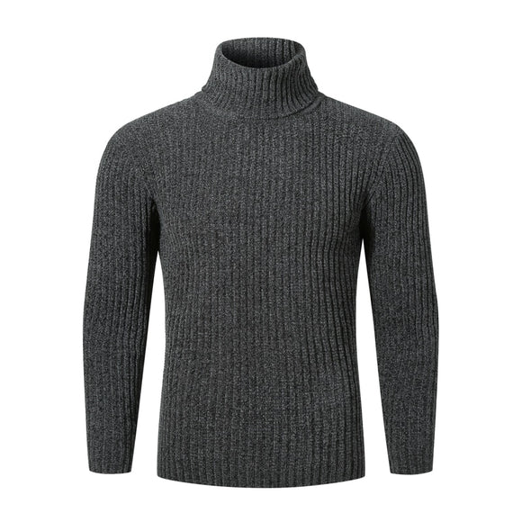 Winter Sweater Men Turtleneck Sweater Men Pullovers Fashion Warm Knitted Turtleneck Sweaters Casual Male Slim Fit Pullovers