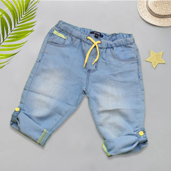 Infant Baba Denim Pant - Light Blue