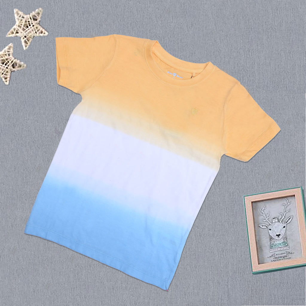 Boys Basic T-Shirt Multi-A