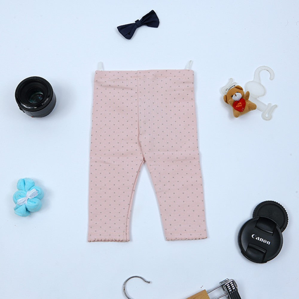 Girls Trouser Pink-Silver Doot