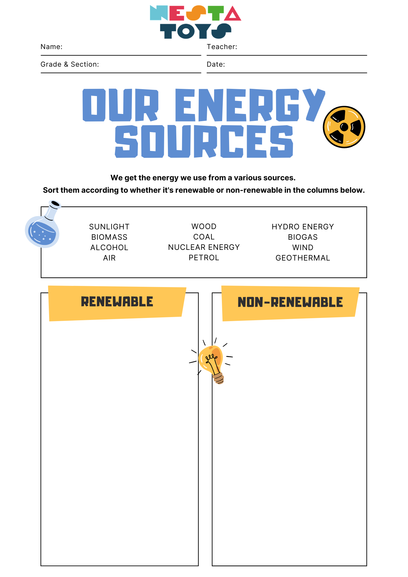 Our energy sources