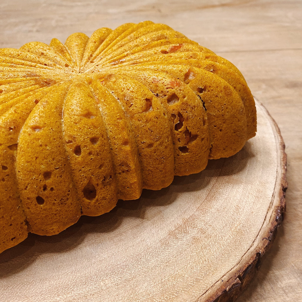 Moist Gingery Goji Pumpkin Loaf Cake | 南瓜枸杞生姜蛋糕
