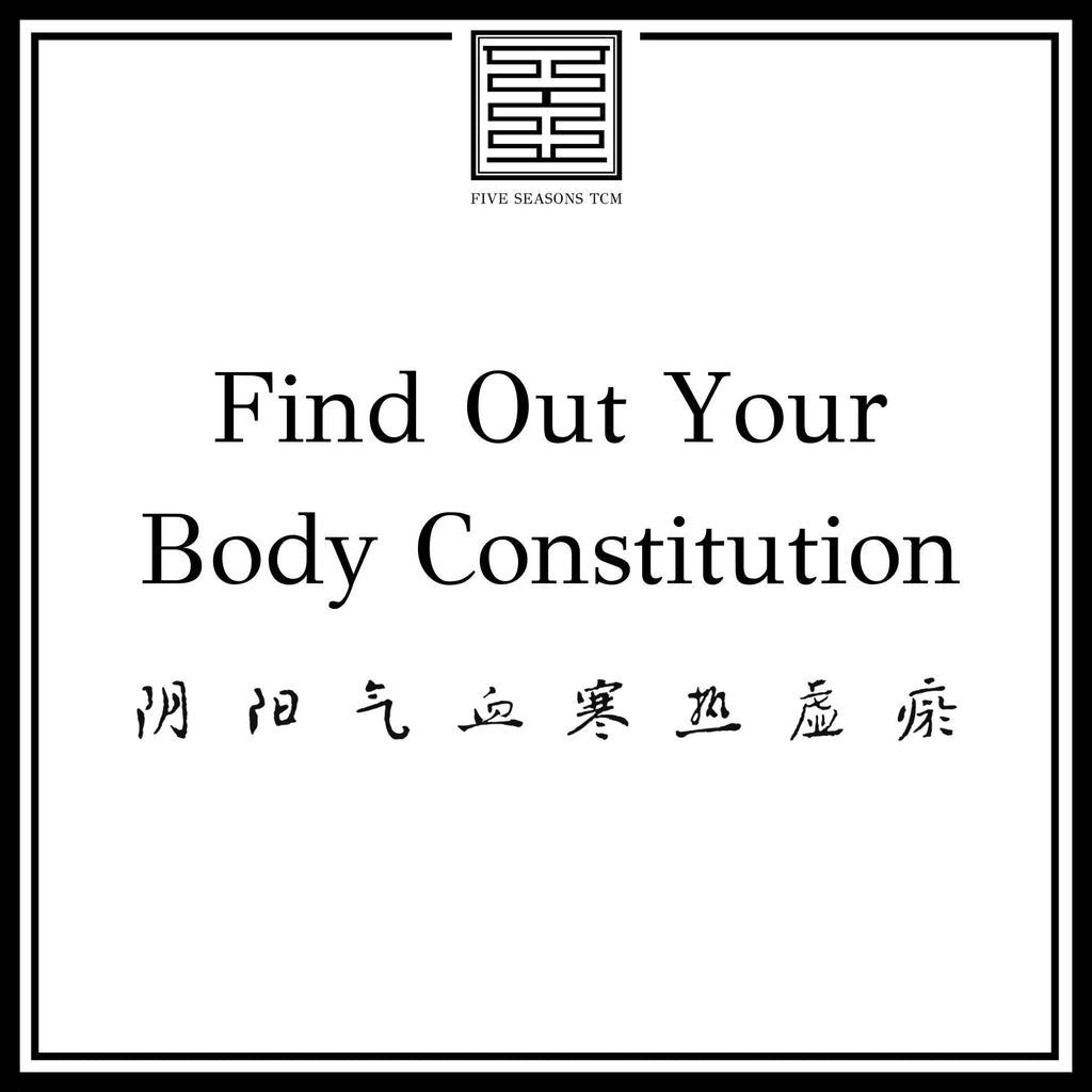 Body Constitution Quiz and Analysis