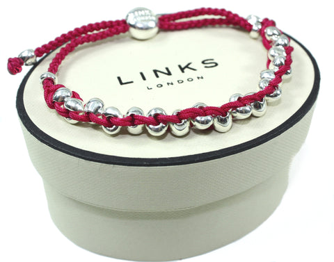 Links of London Heart Friendship Bracelet 5010.1234