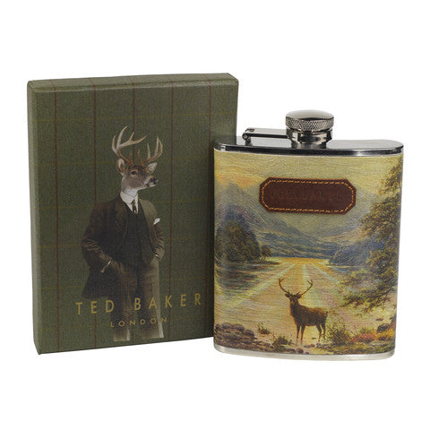 Ted Baker Stag Hip Flask Gift Idea for Men | Lush Labels
