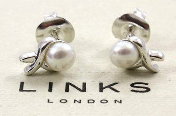 Links of London Sterling Silver Stud Earrings 5000.0643