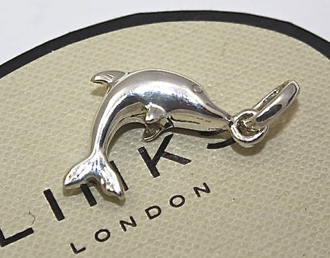 Links of London Sterling Silver Dolphin Sweetie Charm 5030.0122