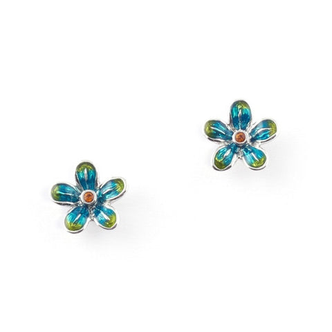 Jungle Paradise Bird Flower Earrings | Bill Skinner
