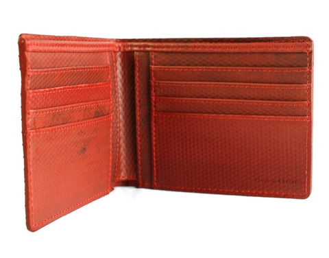 ELVIS & KRESSE London Fire Brigade Fire Hose Billfold Wallet