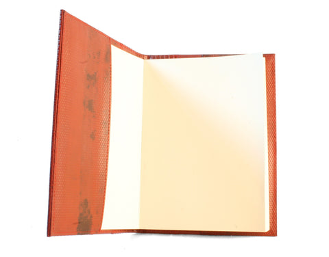 Reclaimed Fire Hose Lined Notebook by Elvis & Kresse
