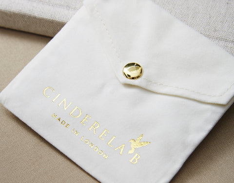 Cinderela B Jewellery Pouch Packaging