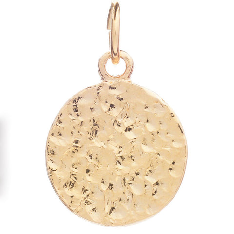 Cinderela B 22 carat gold plated Charm: Ancient Coin