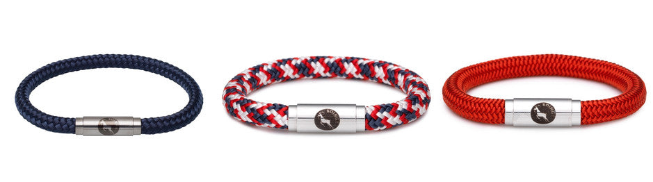 Climbing & Sailing Rope Wristbands for him & her | Boing Slide