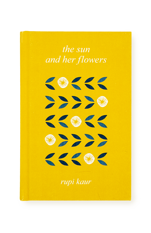 the sun and her flowers hard cover