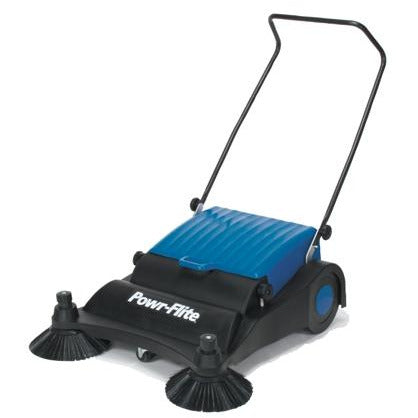 Dark Cyan Manual Push Floor Sweeper - 32