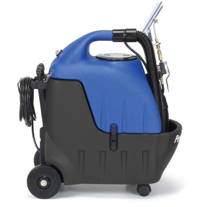 Steel Blue Portable 3.5 Gallon Carpet Spotter - With Detail Tool and 10' Stretch Hose