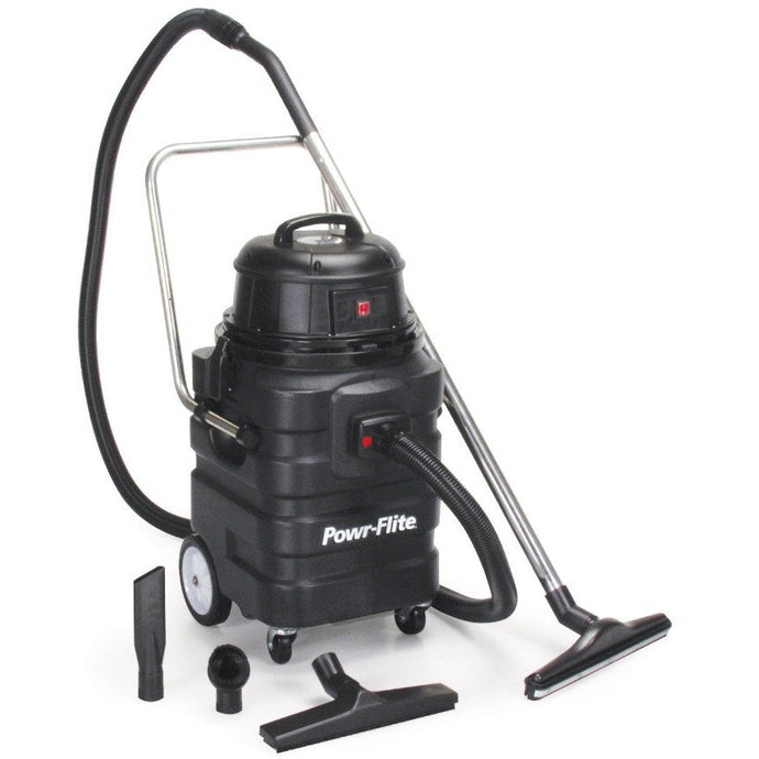 Dark Slate Gray 15 Gallon Wet/Dry Tank Vacuum - With Poly Tank and Tool Kit